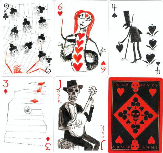 Joker in Deck of Cards http://www.dxpo-playingcards.com/xpo/art/littleboy-6.htm